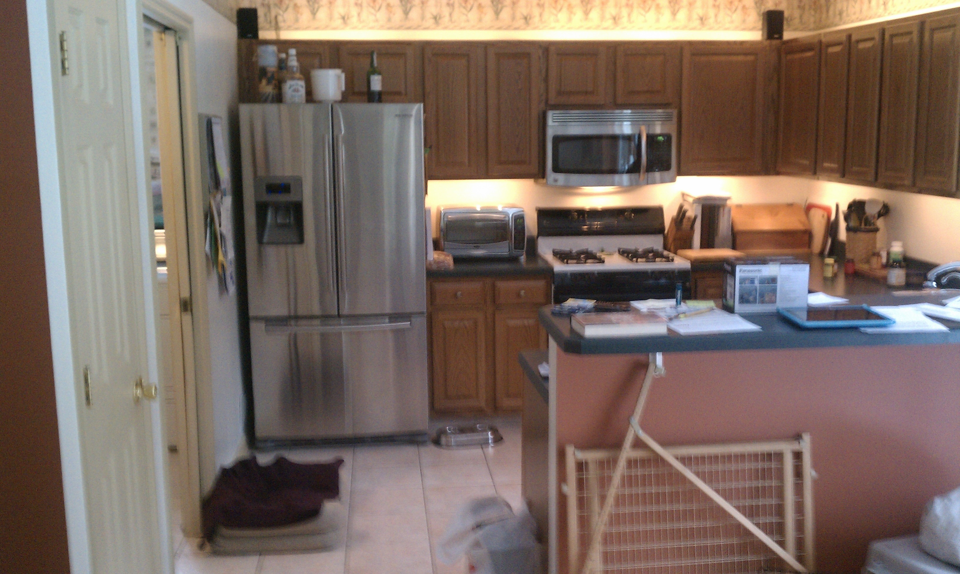 Before Wilton Kitchen